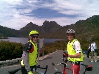 Nic and Ric at Cradle Mountain - 2009